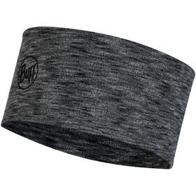 Buff 2 Layers Midweight Merino Wool Headband graphitehite multi stripes